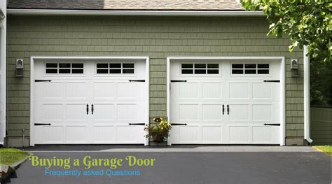 Buy New Garage Door Frequently Asked Questions By Customers While Buying Garage Door Want To