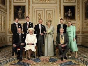 royal family the royal family got together after the wedding of prince charles and the man behind the