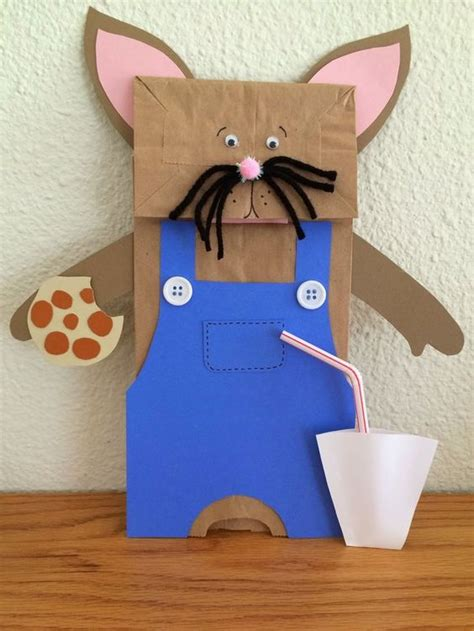 Mouse Paper Craft - quot if you give a mouse a cookie quot by numeroff paper