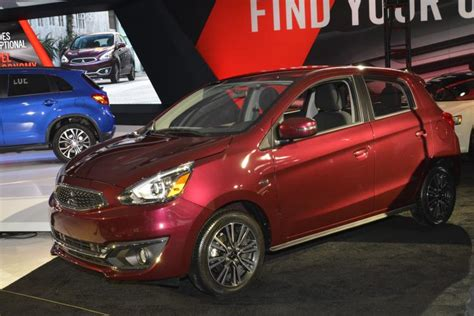 how much is a mitsubishi mirage la auto show mitsubishi debuts outlander sport and mirage