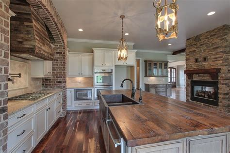 Country Kitchen Island by 35 Beautiful Rustic Kitchens Design Ideas Designing Idea