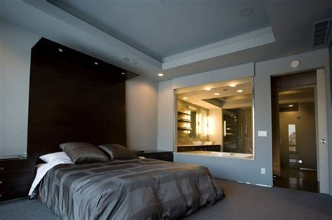 built in headboard ideas extended headboard design with in built recessed lighting