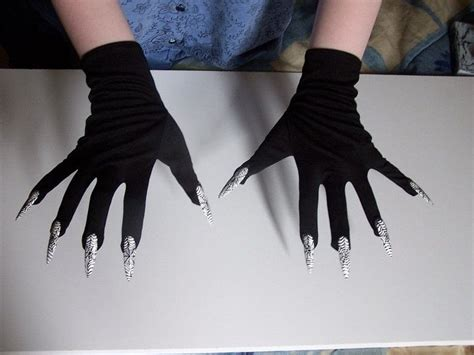 Origami Claw Glove - cat claw gloves 183 gloves 183 decorating on cut out keep