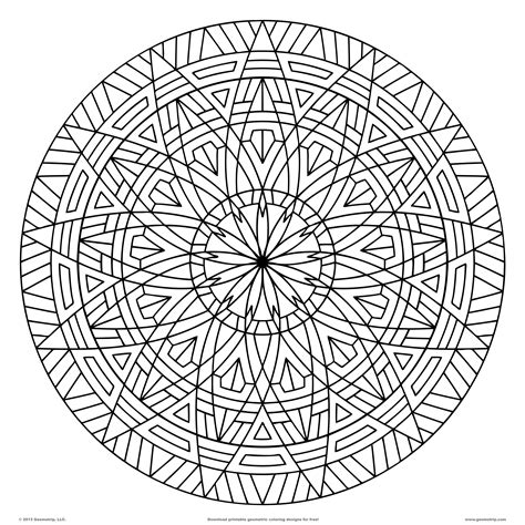 Pattern Coloring Pages For Adults Coloring Home Patterns Coloring Pages