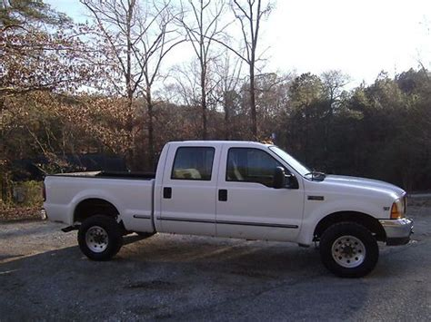 f250 short bed sell used 1999 ford f250 xlt crew cab short bed 4x4 7 3