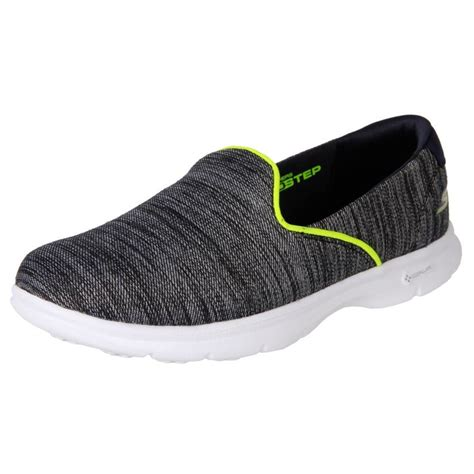 skechers shoes for flat new skechers s casual flat comfort slip on shoes go