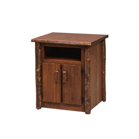 Rustic Nightstand Amish Crafted Furniture - rustic stand amish crafted furniture