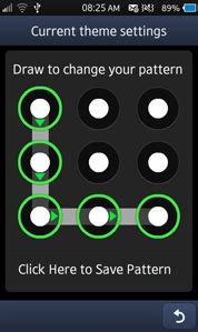 pattern lock decoding pattern lockscreen for samsung bada wave 3 2 1 and wave