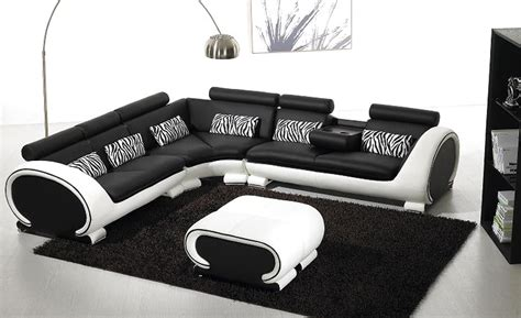 White Leather L Shaped by L Shaped White Sofa Zen White Leather L Shaped Sectional
