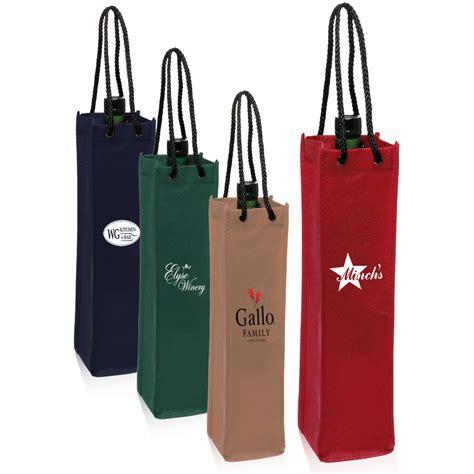 Single Wine Bottle Holder personalized non woven single wine bottle bags tot117