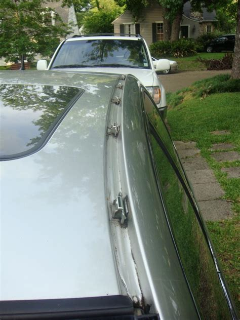 03 roof drip molding peeling club lexus forums