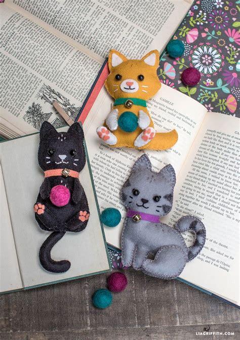 crafts felt diy felt craft kittens felt ideas felt crafts diy