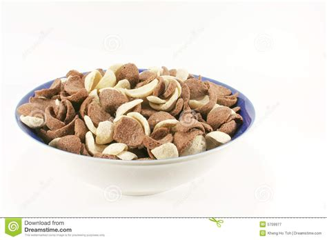 coco crunch chocolate crunch cereal cornflakes royalty free stock