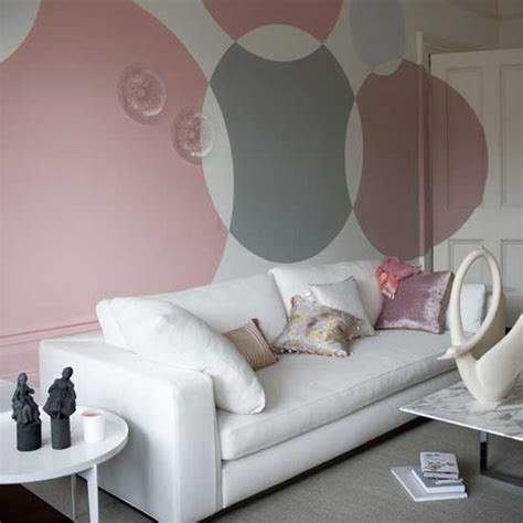 paint statement circles modern feature wall ideas 10 of the best housetohome co uk