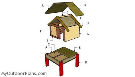 insulated cat house plans outdoor cat house plans myoutdoorplans free woodworking