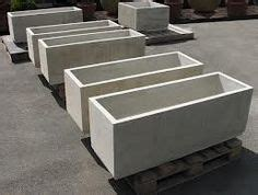 Lightweight Concrete Planter Boxes by Gardening By Eaneise On Concrete Planters