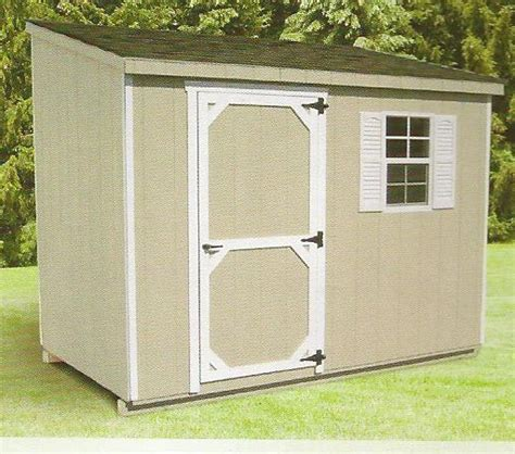 6x10 Storage Shed Lean To Shed 6 X 10 Wood