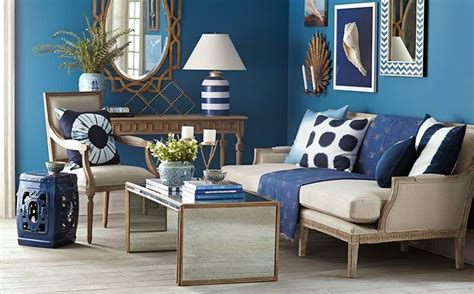 Living Room In Blue by Navy Amp Gold Living Room Home Pinterest Living Rooms