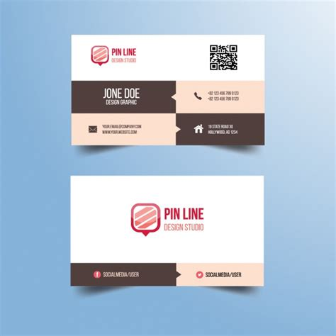 Http Www Freepik Free Vector Coffee Business Card Template 1105489 Htm by Business Card Design Vector Free