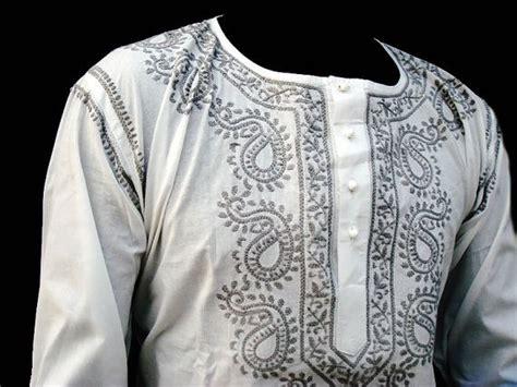 Kaftan Mayang Polos B white dress sari tunic mens kurta shirt salwar kaftan fathers day free gift with purchase