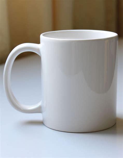 White 11oz white mug