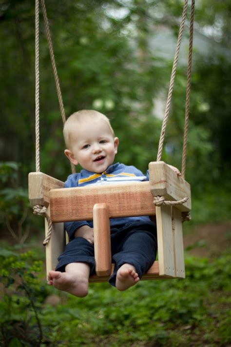Baby Swing 50 Baby Swing Or Toddler Swing Cedar Handmade Porch Or Tree