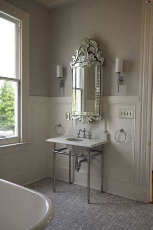 Venetian Mirror Bathroom Venetian Mirror Medicine Cabinet Transitional Bathroom