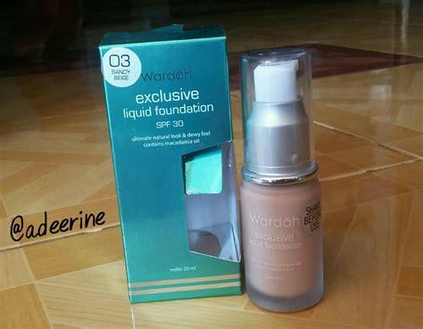 Harga Wardah Exclusive Liquid Foundation Spf 30 beginner enthusiast rekomendasi foundation lokal