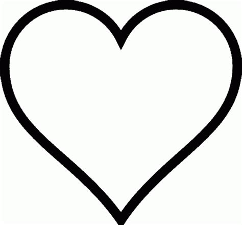 Kostenlose Vorlage Herz Malvorlagen Gratis Malvorlagen Herzen