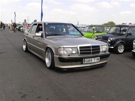 lowered mercedes 190e mercedes 190e cosworth lowered on bbs 8 5x17 10x17