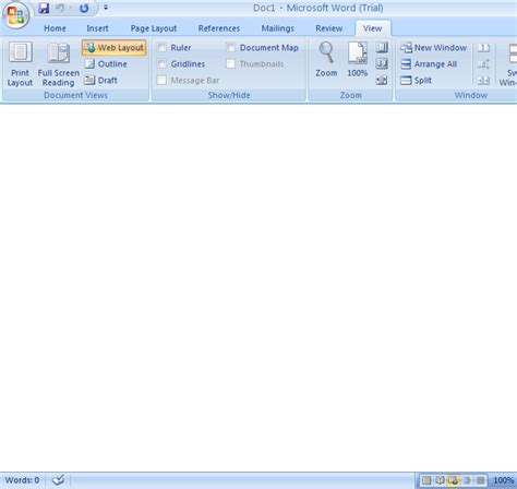 layout view print layout view document view 171 editing 171 microsoft