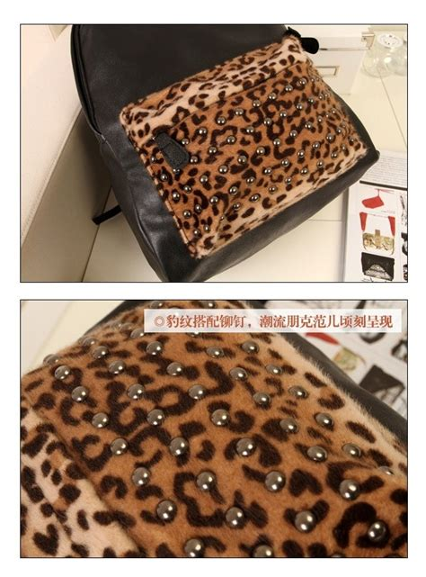 B7910 Tas Ransel Motif Import tas ransel import leopard model terbaru jual murah import kerja