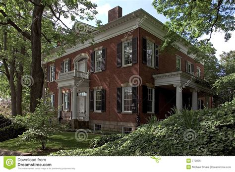 Federal Style | federal style house stock photo image of building