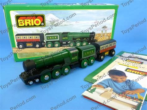 brio railway brio brio 33433 flying scotsman wooden railway train of