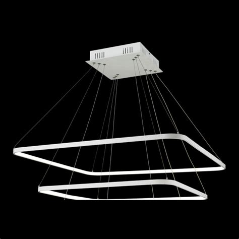 Rectangular Chandelier Canada Floating Led Rectangle Chandelier Finesse Decor Touch Of Modern