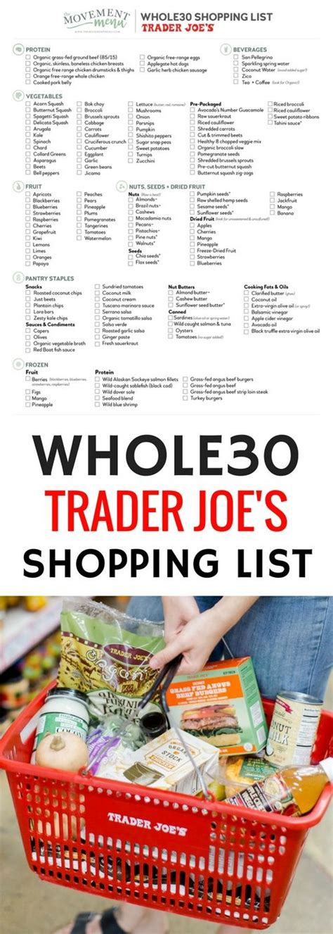 Trader Joe S Detox Cleanse Diet by The 25 Best Whole30 Shopping List Ideas On
