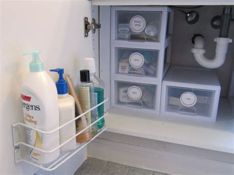 how to organize bathroom cabinets brilliant bathroom cabinet organizers homesfeed
