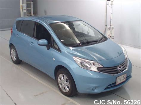 nissan note 2013 2013 nissan note light blue for sale stock no 56326