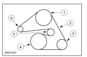 2004 ford taurus belt diagram 2004 ford taurus belt routing