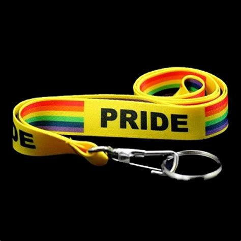 rainbowdepot pride rainbow lanyards from rainbowdepot