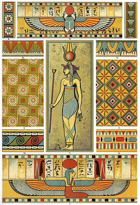 design art egypt 17 best images about egyptian art and patterns on