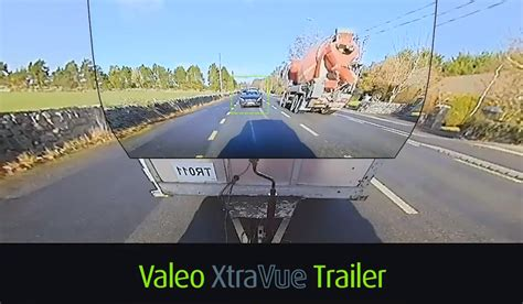 valeo previews invisible trailer system  ces
