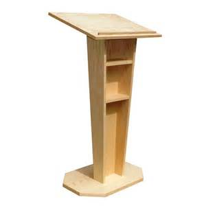 Used Credenzas Wood Lecterns