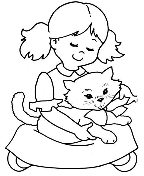 printable coloring pages of baby kittens free coloring pages of baby baby kittens