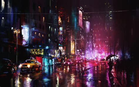 paint nite cities wallpaper 1920x1200 painting city