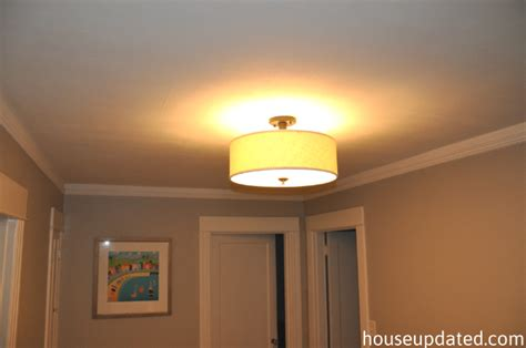 Bathroom Light Fixtures Ideas Brightening Up The Hallway House Updated