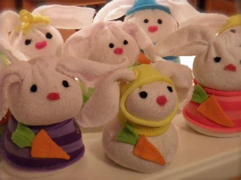 sock snowman without rice bunnies diy craft simple sock bunnies no sew filled