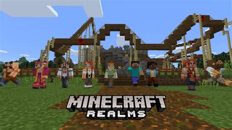 The Real M By Carey Ad by Minecraft Realms Announced Beyond Entertainment
