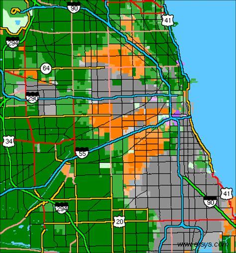 chicago segregation map midwest segregation income demographic maps usa