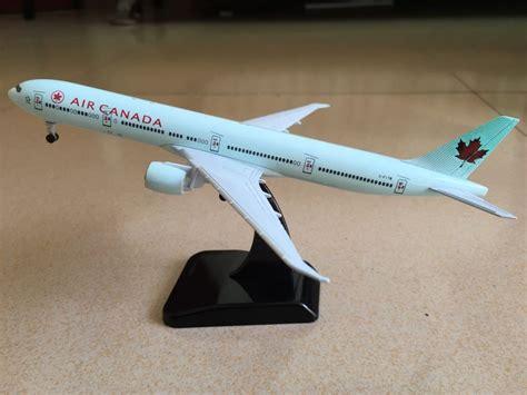 Air Canada Boeing777 Passenger Airplane Plane Aircraft Metal Diecast M 18cm solid air canada boeing 777 passenger plane airplane